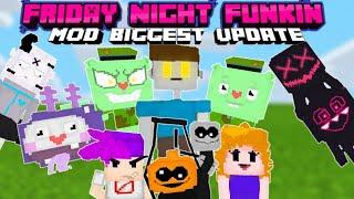 Friday Night Funkin' Mod In Minecraft (BE/PE)