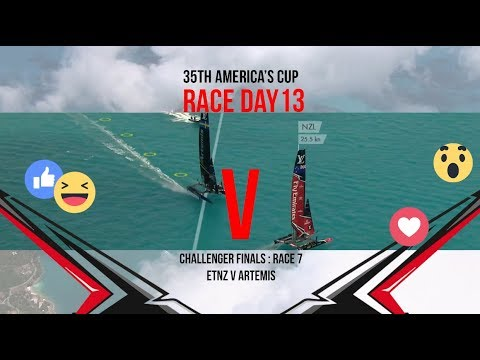 35th America's Cup: Race Day 13 Favourite Moments