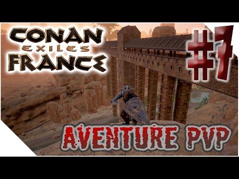 [PVP] CONAN EXILE FRANCE - Ep7 - AMELIORATION AUTEL YOGG & DECOUVERTES [FR]