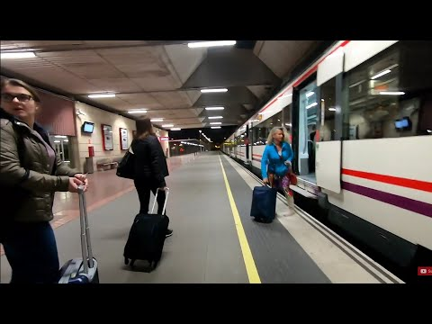 Arrival and train