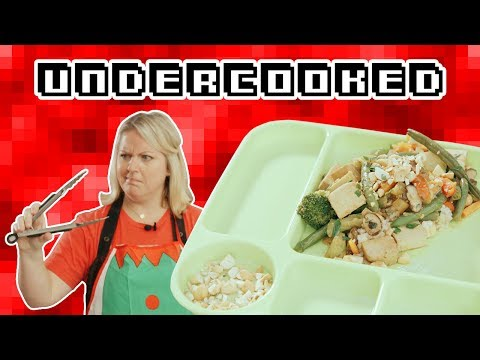 Amateurs Attempt to Make Airplane Food | Undercooked
