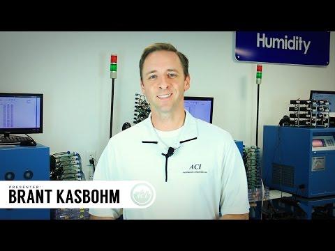 ACI's Live Video Webinar Invitation - Relative Humidity Sensors