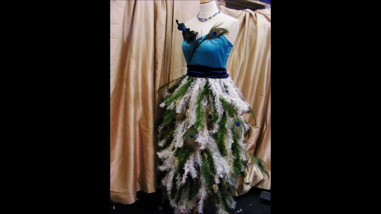 how to make a christmas tree dress by oxfam gateshead youtube - Christmas Tree Dress