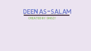 Deen as salaam(diin as salm), bank boubyan, lirik dan arti, video animasi. Mp3