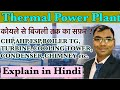 THERMAL POWER PLANT,COAL TO ELECTRICITY,BASIC INFORMATION OF THERMAL POWER PLANT ,(HINDI)