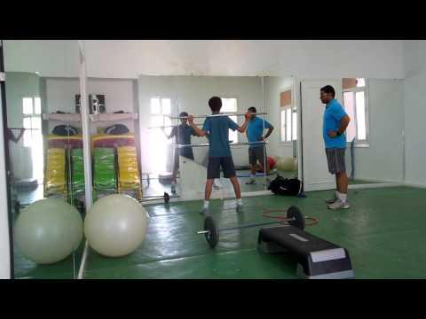 Circuit de renforcement musculaire général tennis