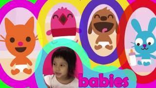 Sago Mini Babies App For Kids - YouTube