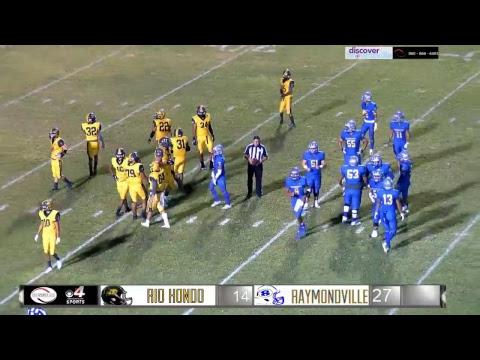 Rio Hondo @ Raymondville Football Game