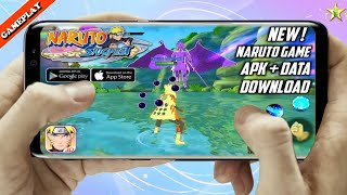 Gambar cover Naruto Slugfest APK+DATA Download For Android || English Version || Gameplay HD