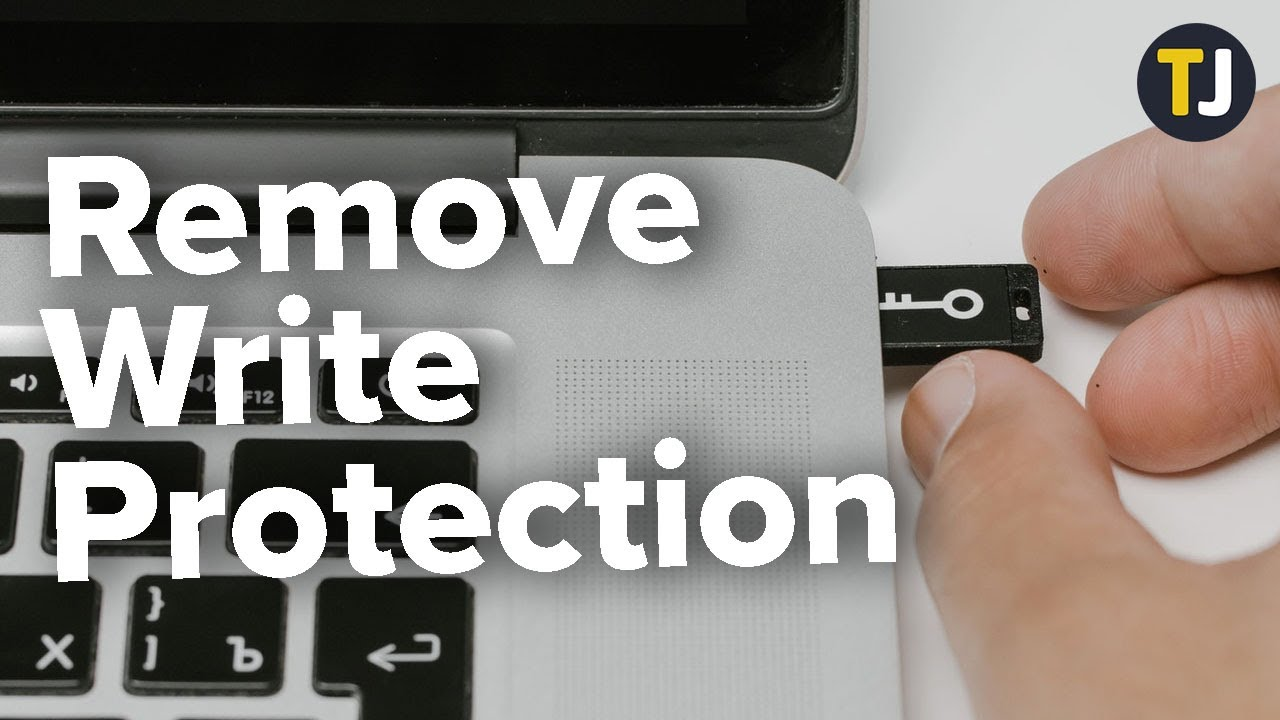 How to Remove Write Protection from a USB Drive
