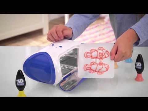 3D Magic Maker (Creative Toy Set by Mookie) - ToySeek