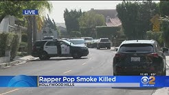 Rapper Pop Smoke Shot To Death In Hollywood Hills Home Invasion