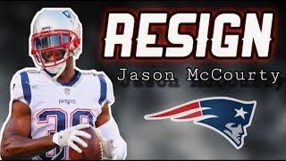 The Patriots need to resign CB Jason McCourty