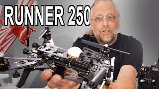 RUNNER 250 unbox & review