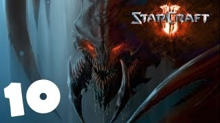 StarCraft 2 Heart of the Swarm Campaign Walkthrough Part 10 Gameplay Review Lets Play HD Hard PC