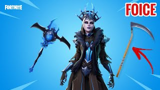 FORTNITE-TODAY's SHOP 19/01: NEW LEGENDARY SKIN the ICE QUEEN and SCYTHE CAME BACK IN the FORTNITE STORE