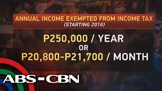 The World Tonight: April 2018 income taxes will still use old rates according to BIR