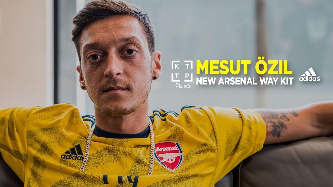 new products bce27 db50b Mesut Özil on the new adidas 19/20 Arsenal Away kit: The Bruised Banana |  KTTP Presents