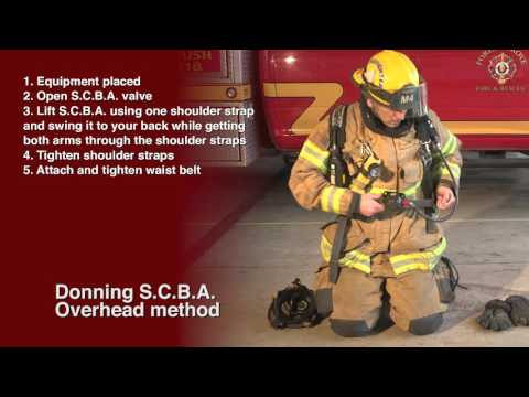 Don and Doff PPE & SCBA