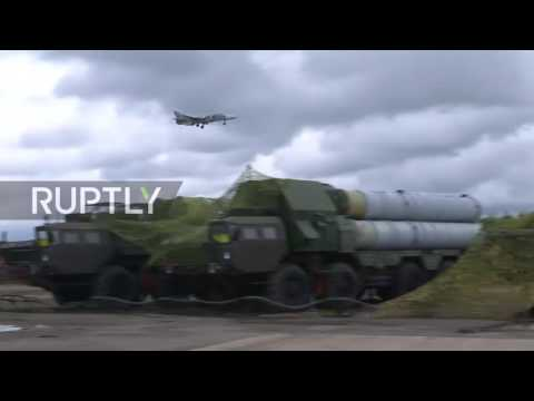 Russia: Modernised air defence systems deployed in military exercise near Kaliningrad