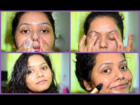 COCONUT OIL FACIAL For Skin Lightening | Get Glowing,Wrinkle