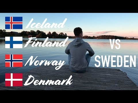 How Are The Nordic Countries Different (Denmark, Norway, Finland, Iceland vs Sweden)