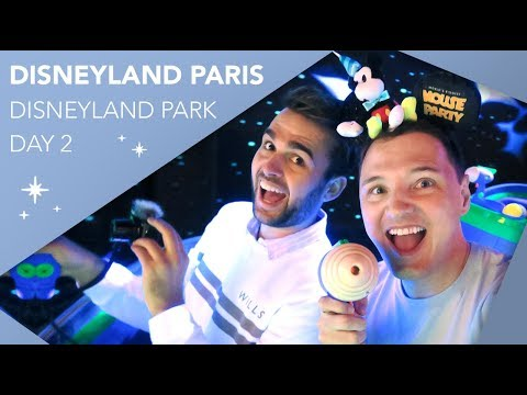 A Full Day In Disneyland Park   Day 2   Disneyland Paris Vlog   May 2019   Adam Hattan