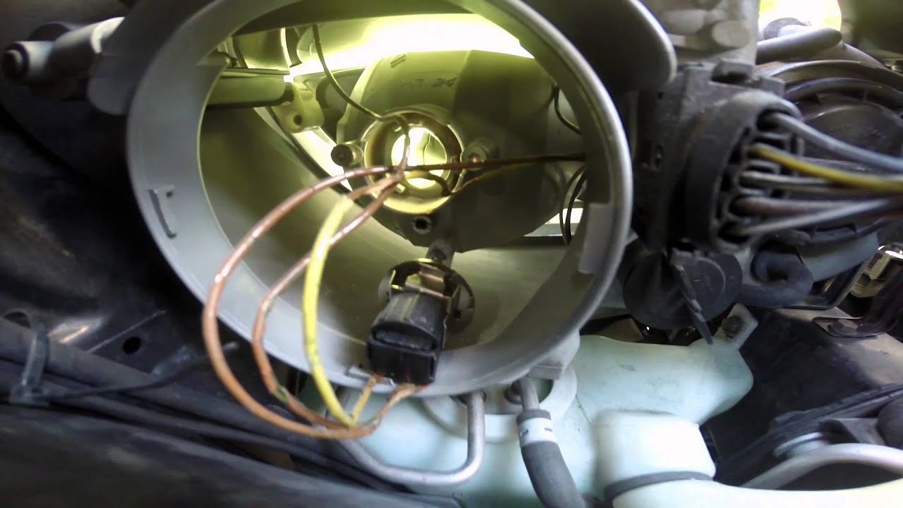 MERCEDES BENZ HEADLIGHT WIRING HARNESS YouTube