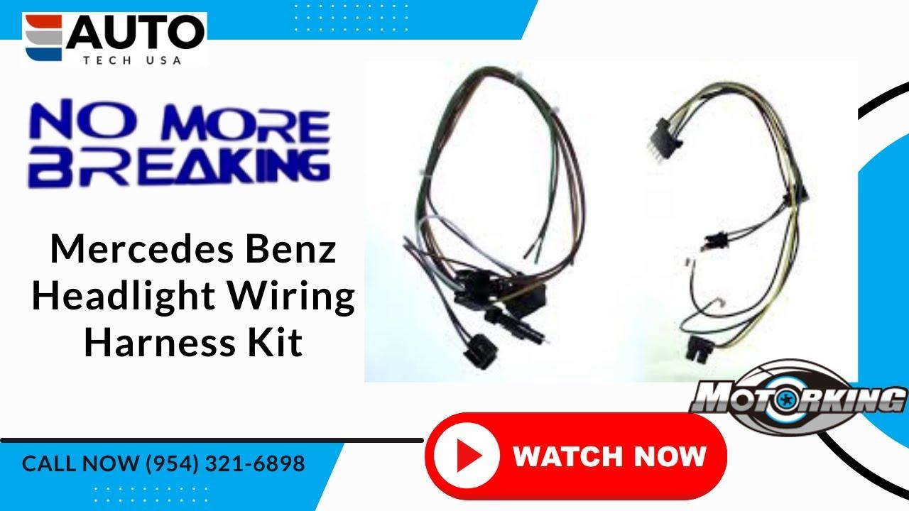Mercedes Benz Headlight Wiring Harness