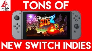 NEW SWITCH GAMES, TONS OF INDIE ANNOUNCEMENTS!!