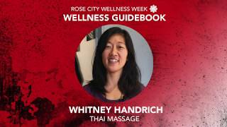 Wellness Guidebook - Thai Massage (Whitney Handrich)
