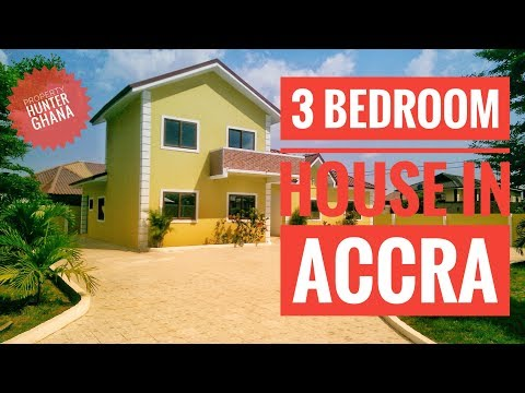 3 Bedroom House In Accra, Lakeside Estate For Sale