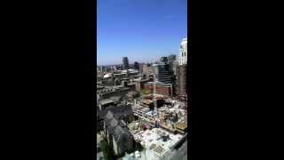 Timelapse Of 1 Month Construction - May 2013 In Toronto
