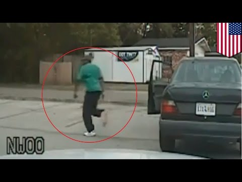 New Walter Scott shooting video: Dashcam video shows him running from traffic stop