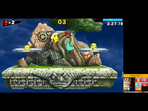 Citra Canary - Super Smash Bros  for 3DS Smash Run Gameplay