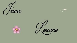 [Lyrics] Jeune (j