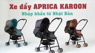 Tuticare- Xe đẩy Aprica Karoon cho bé