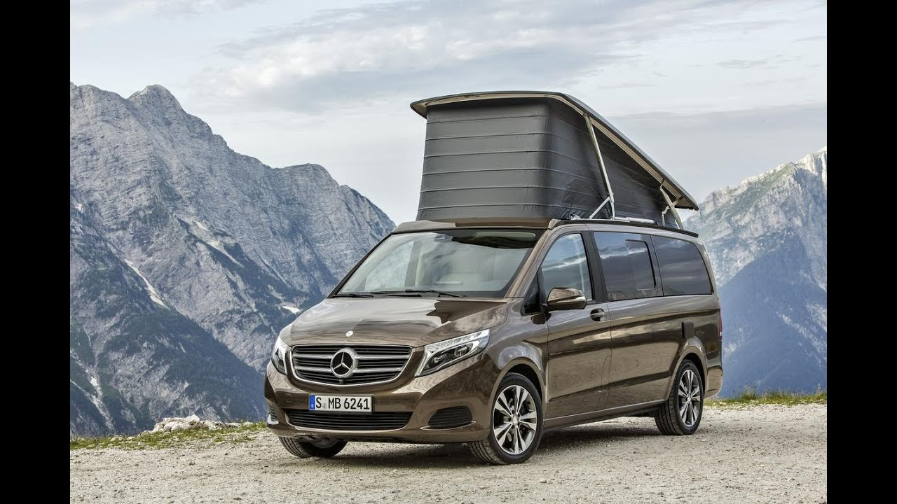 mercedes benz v class marco polo 2015 youtube. Black Bedroom Furniture Sets. Home Design Ideas