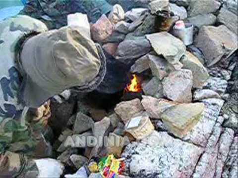 Cocinando en un horno de piedra i actividades al aire for Cocinar para 9 personas