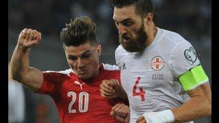 Georgia 1:2 Austria ~ World Cup 2018 ~ 05.09.2016