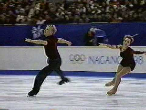 Peggy Schwarz and Mirko Muller 1998 Winter Olympics LP