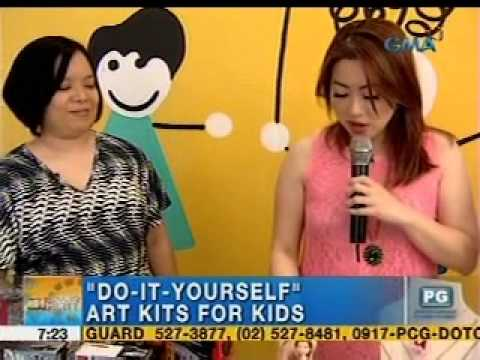 Do it yourself art kits for kids unang hirit youtube solutioingenieria Images
