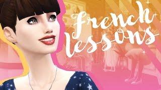 THE SIMS 4: Уроки Французского #2 - ВСТРЕЧА
