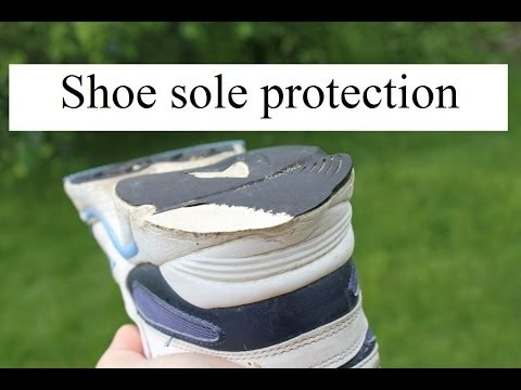 Shoe sole protection secret! Protect your running shoes and sneakers. It works!