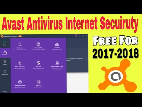 How To Download Avast Antivirus-Internet security | Free For 2017-2018 | Latest Full Version | Hindi