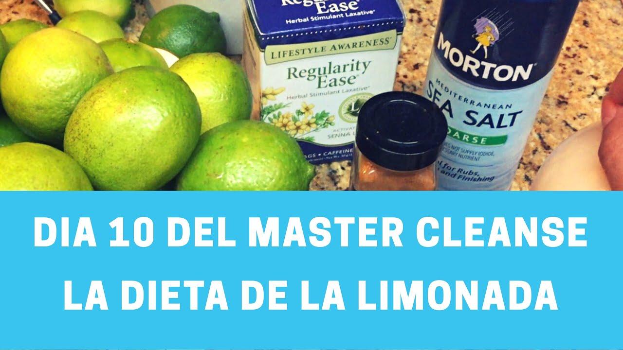 Dieta detox de la limonada