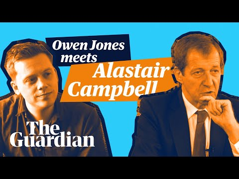 Owen Jones meets Alastair Campbell – full length interview