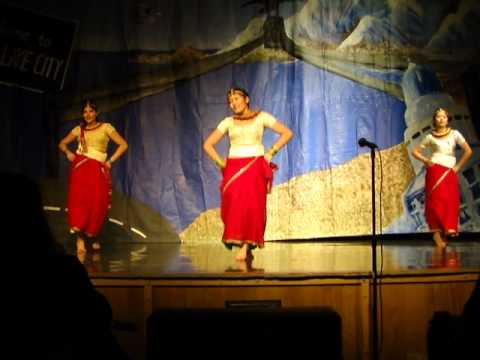 Nepal Dance at Bryant Middle School-Multicultural 2012