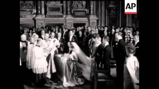 PRINCESS IRENE ARRIVES ROME    - NO SOUND