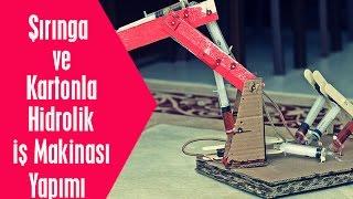 Robotik Hidrolik Kol Yaptık || Karton ve Şırınga